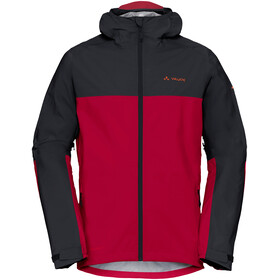 VAUDE Moab Rain Jacket Men salsa